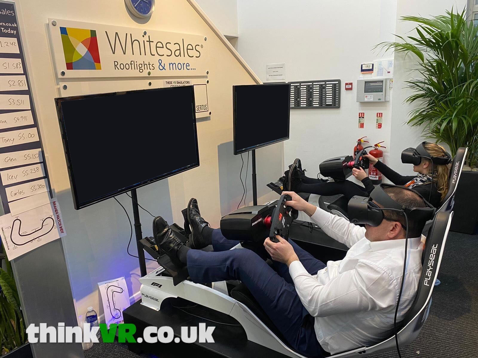 Virtual Reality Racing Simulator Hire Whitesales Cranleigh 2020