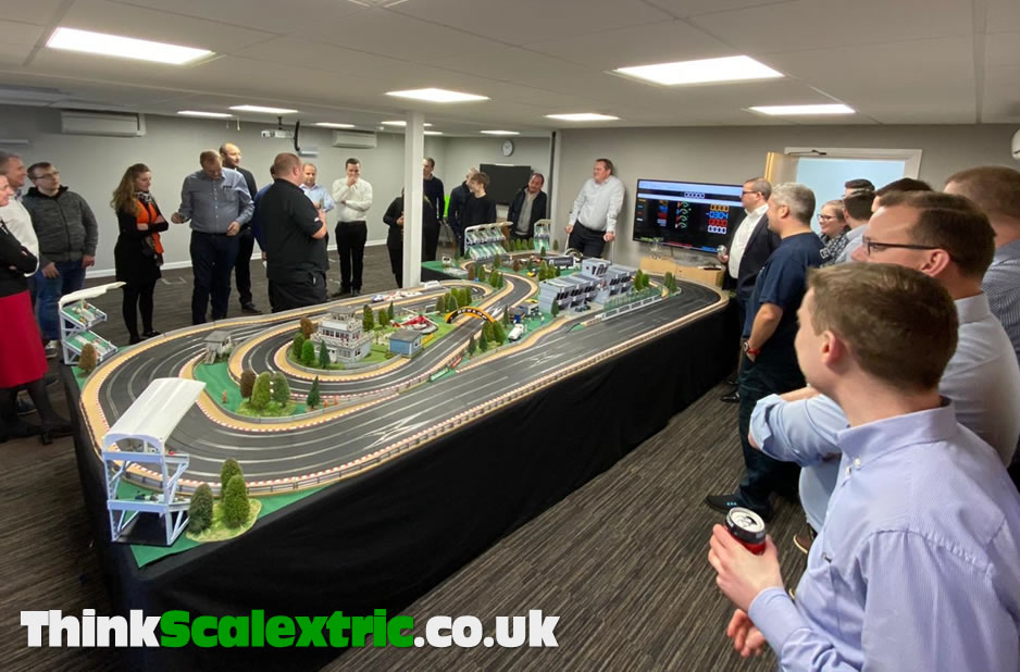 Giant Scalextric Hire Whitesales Cranleigh 2020